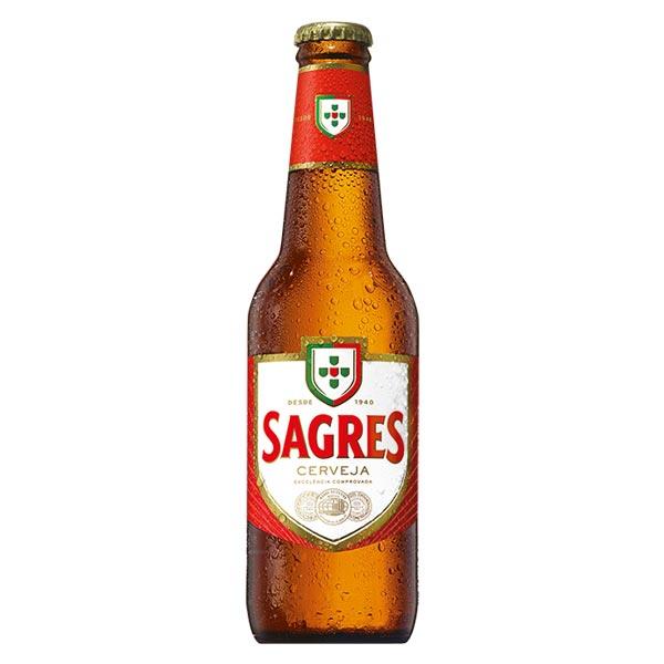 Cerveja Sagres 33Cl
