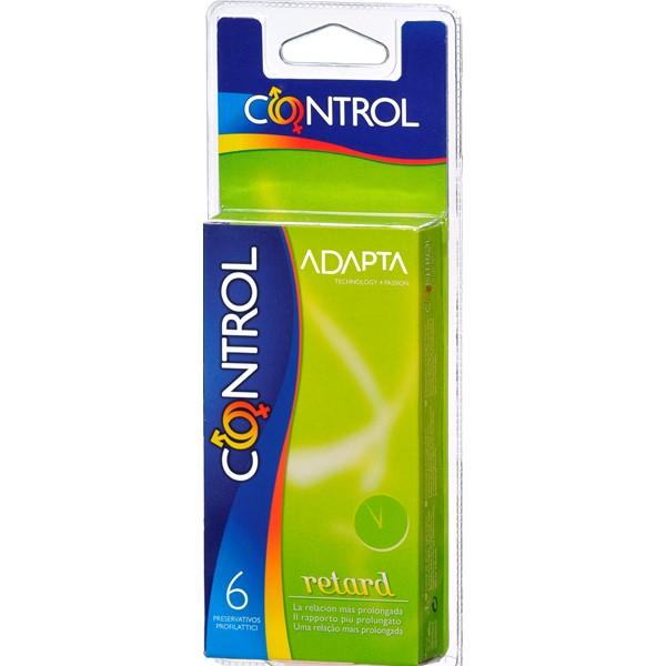 Preservativos Control Adp Retard 6 Un