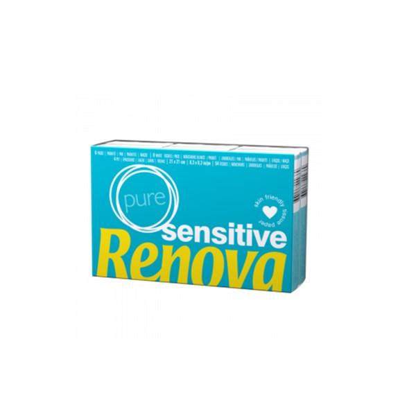 Lenços Bolso 6Pack Renova Sensitive