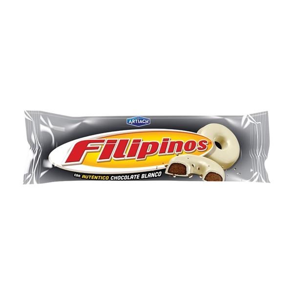 Bolacha Filipinos Chocolate Branco 150G