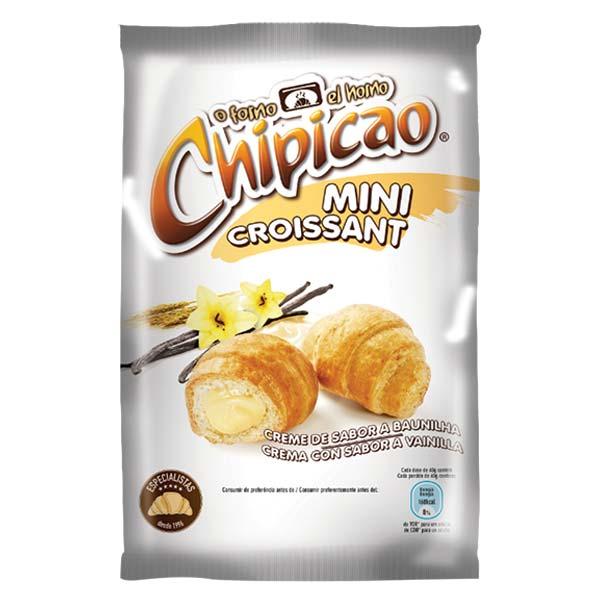 Croissant Chipicau Mini Baunilha 80Gr