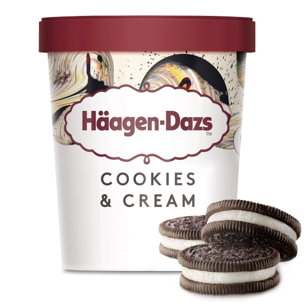 Häagen-Dazs Cookies/Cream 460Ml