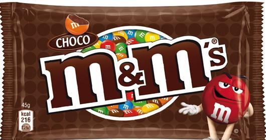 M&M'S Chocolate 45Gr
