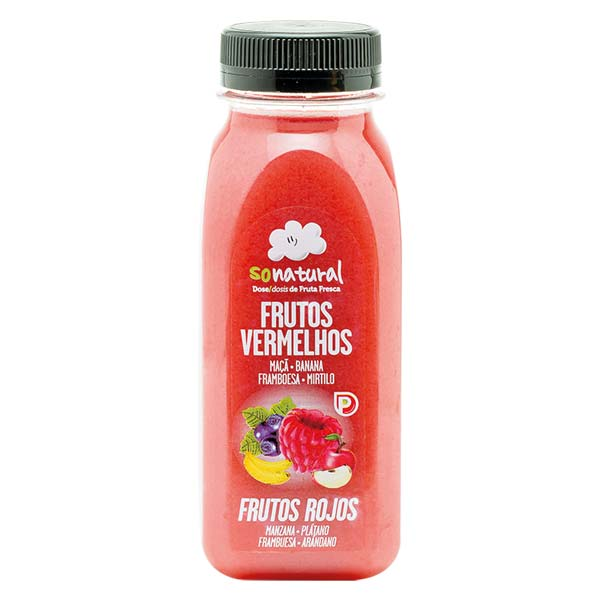 Sonatural 250Ml Mix Frutos Vermelhos