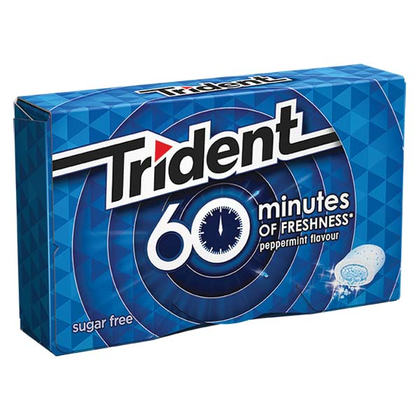 Trident 60 Minutos Peppermint