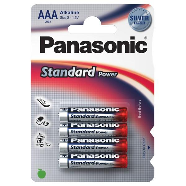 Pilha Panasonic Evd Power Lr03 4 Pilhas