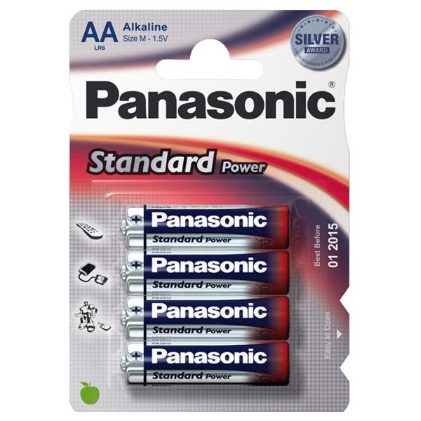 Pilha Panasonic Evd Power Lr06 4 Pilhas