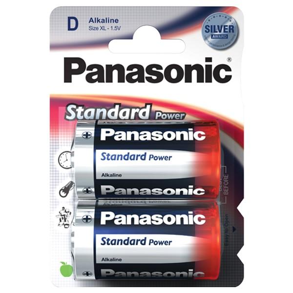 Pilha Panasonic Evd Power Lr020 2 Pilhas