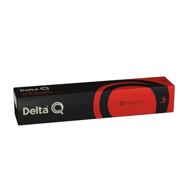 Delta Q-Qharacter Cápsulas 10 Un