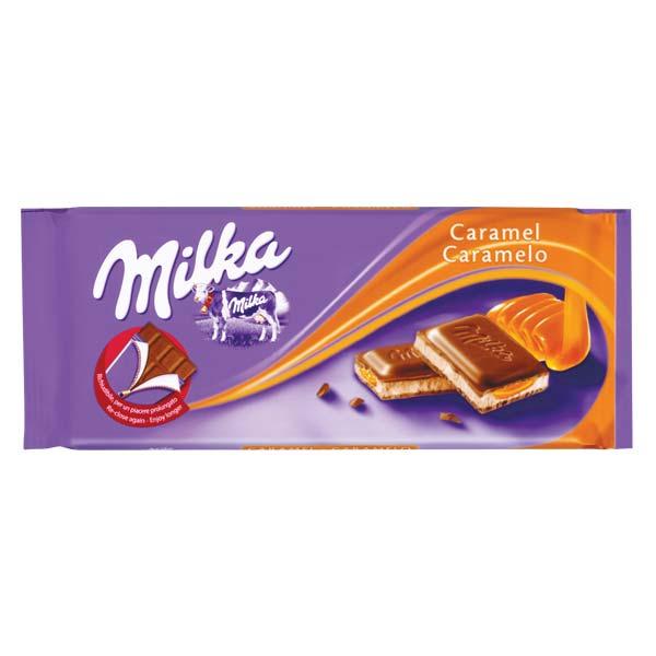 Milka Caramel 100Gr