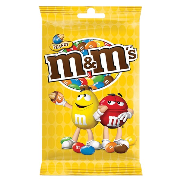 Chocolates Maltesers/M&Ms