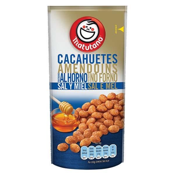 Amendoins Sal E Mel 70Gr