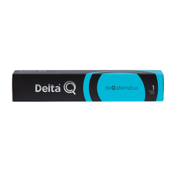 Delta Q-Deqafeinatus Cápsulas 10 Un
