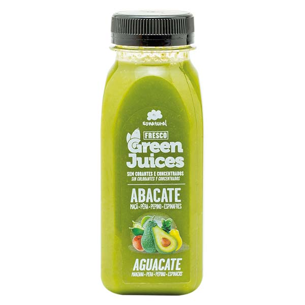 Sonatural 250Ml Green Juice Abacate