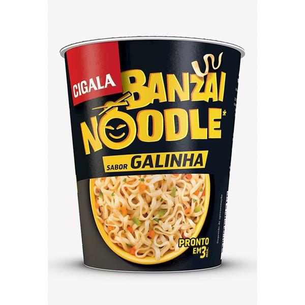 Banzai Noodle Sabor Galinha Cigala 67 Gr