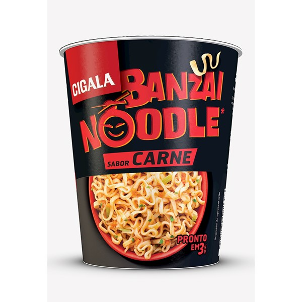 Banzai Noodle Sabor Carne Cigala 67 Gr