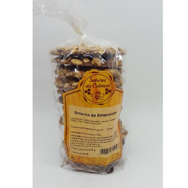 Bolacha De Amendoim Sabores Da Colmeia 275 Gr