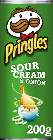 Pringles Natas&Cebola 200G