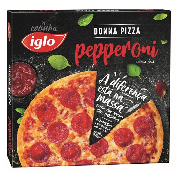 Pizza Massa Fina Pepperoni 340G