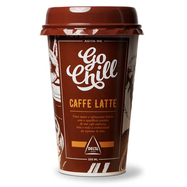 Café Com Leite Go Chill 230Ml