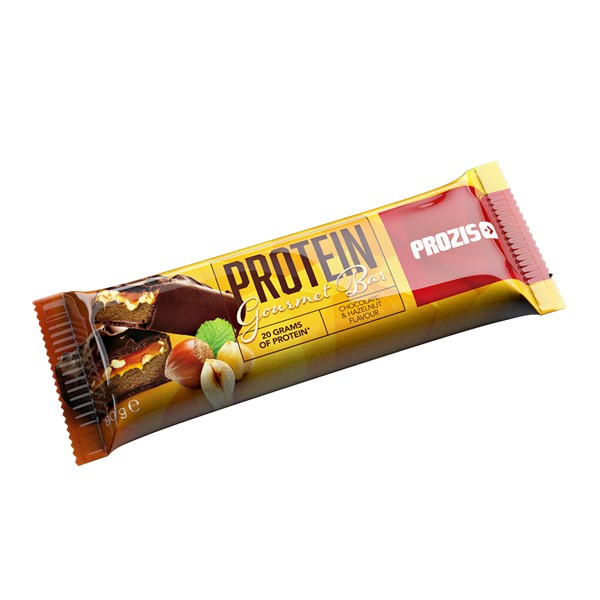 Prozis Protein Gourmet Bar 80G - Chocolat And Hazelnuts