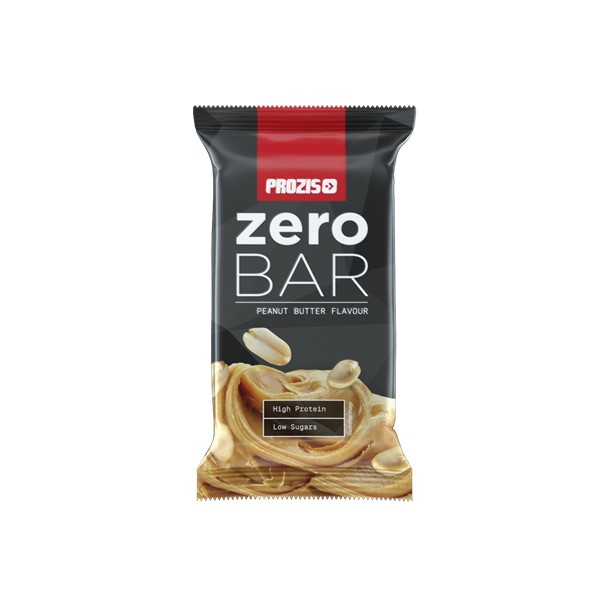 Prozis Zero Bar 40 G - Low Sugars Peanut Butter