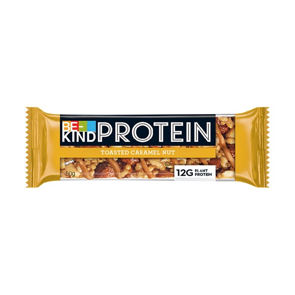 Barra Be-Kind Protein Caramelo e Amendoas 50G