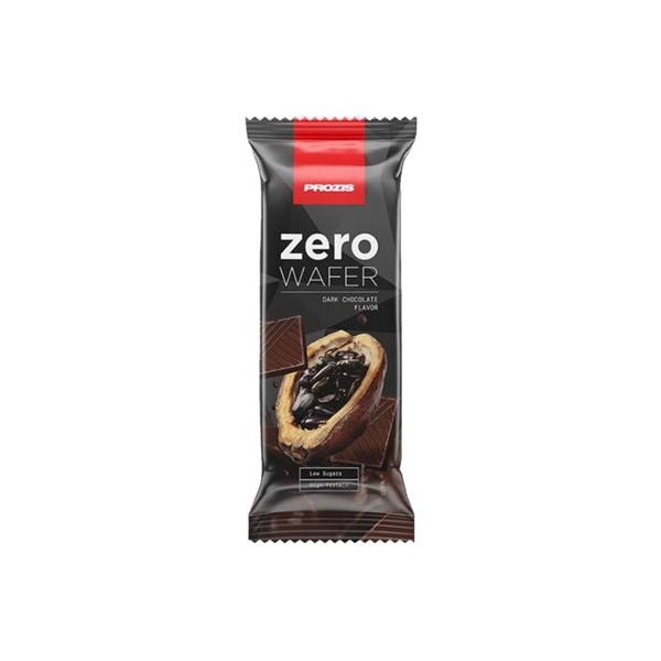 Prozis Zero Wafer Chocolate Preto 40G